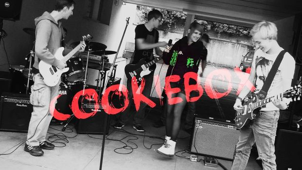 Band Cookiebox - © privat