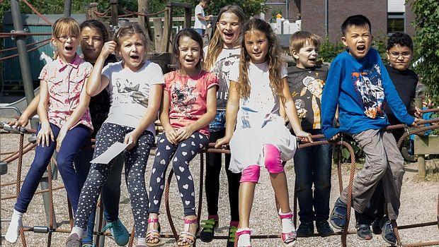 Die Kinder der OGATA Leo-Lionni-Schule - Foto NeanderDiakonie
